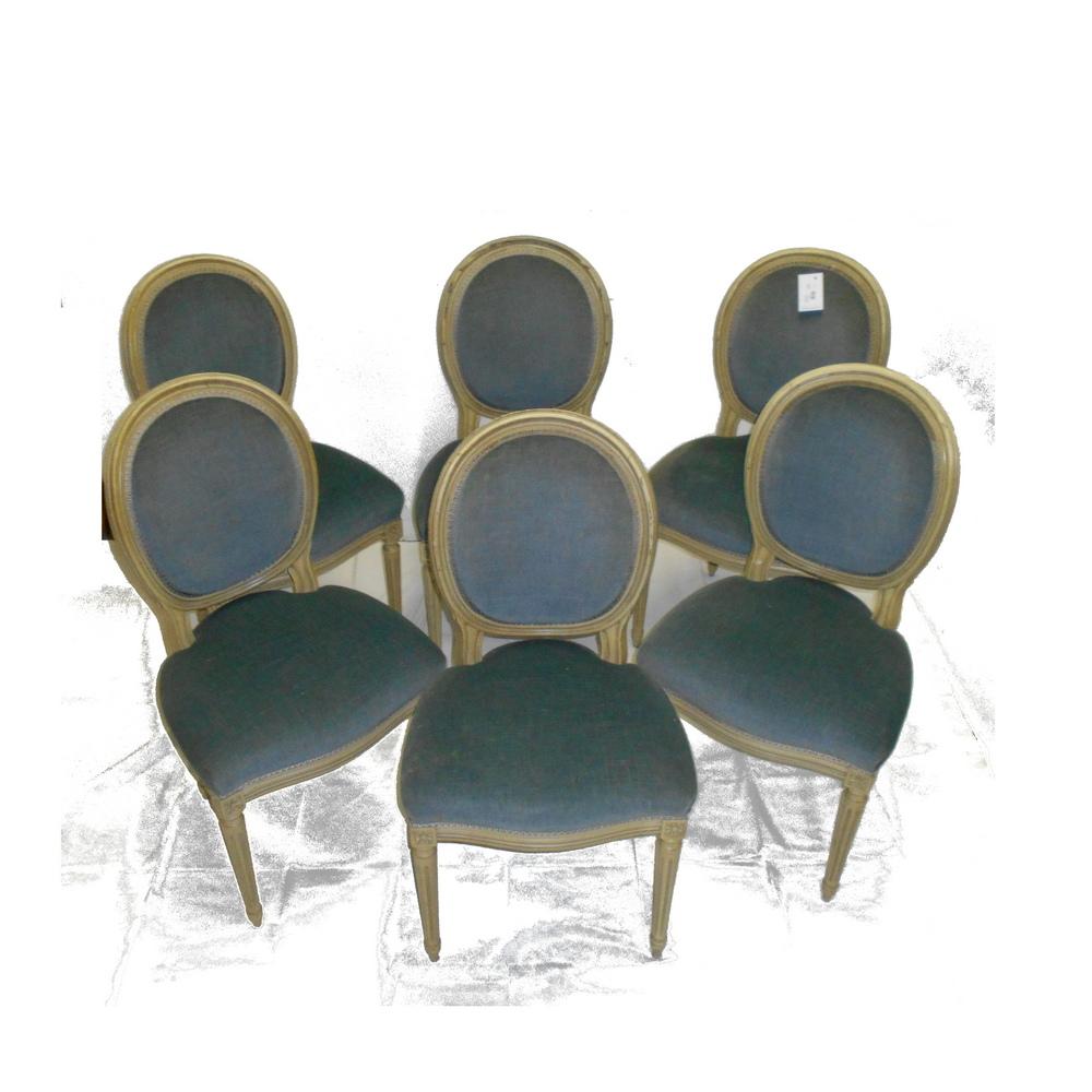 6 sedie imbottite perla sostenibile for Sedie imbottite